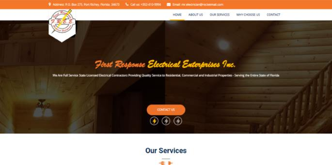 First Response Electrical Enterprises Inc.