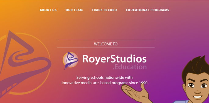 Royer Studios Education